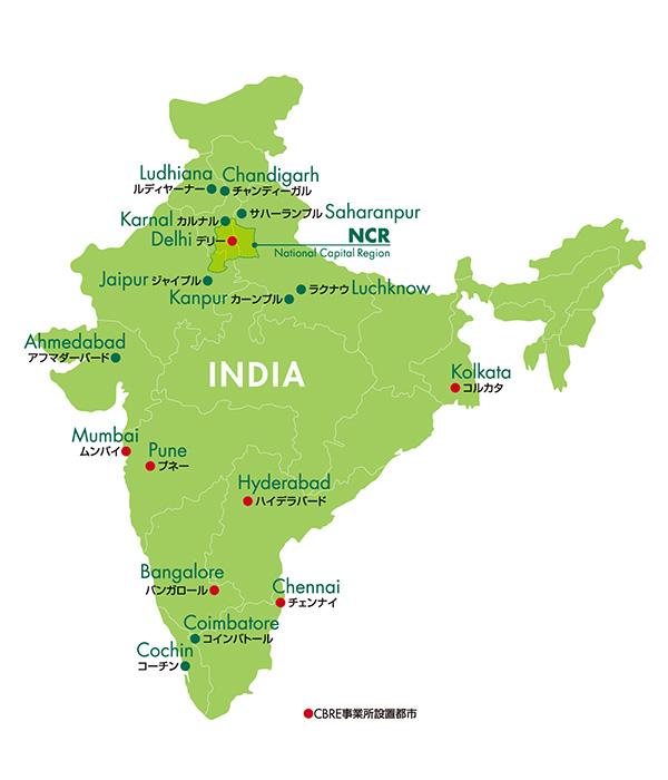 インドのオフィスマーケット概観 | 賃貸オフィス 賃貸事務所の ...